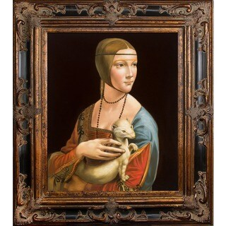 Da Vinci 'Lady with an Ermine' Canvas Art