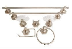 Moen Atwood 7-piece Pewter Bath Accessory Set