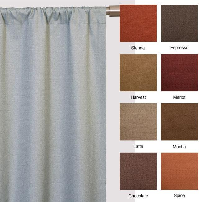 Softline Trilogy Rod Pocket 84-inch Curtain Panel