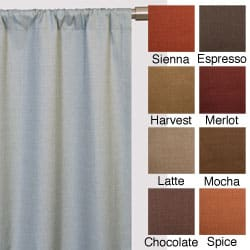 Trilogy Rod Pocket 84-inch Curtain Panel