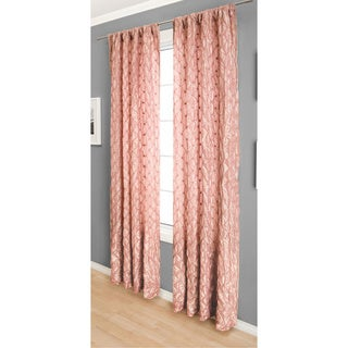 Softline Zanzibar Rod Pocket 96-inch Curtain Panel