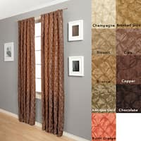 Softline Zanzibar Rod-Pocket 120-Inch Curtain Panel