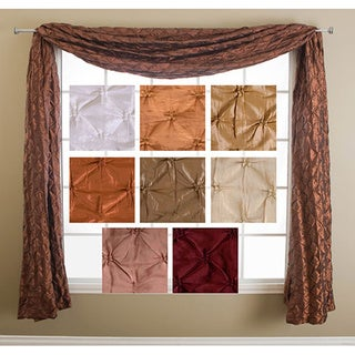 Softline Zanzibar 6-yard Window Scarf - 4' x 18'