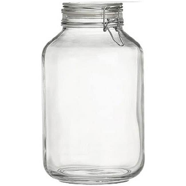 Bormioli Rocco 5-liter Italian Fido Glass Canning Jars (Set of 6)