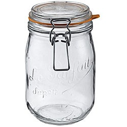 Le Parfait French 3/4-liter Glass Canning Jars (Pack of 6)