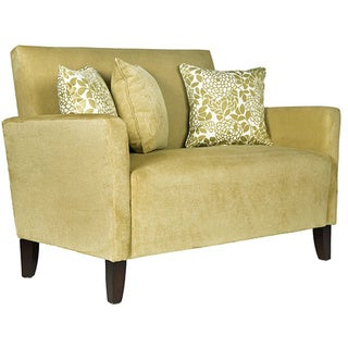Handy Living Sutton  Lotus Green Loveseat