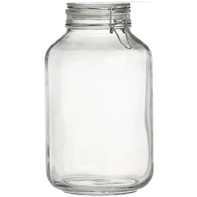 Bormioli Rocco Italian Fido 4-liter Canning Jars (Pack of 3) - Thumbnail 0