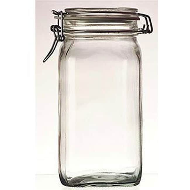 Bormioli Rocco 0.75-liter Fido Glass Canning Jars (Pack of 6) - Thumbnail 0