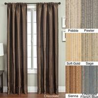 Kaili Faux Linen Grommet Top Curtain Panel Free Shipping