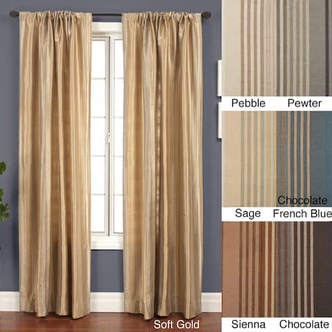 Jaipur Stripe Rod Pocket 120-inch Curtain Panel - 53 x 120