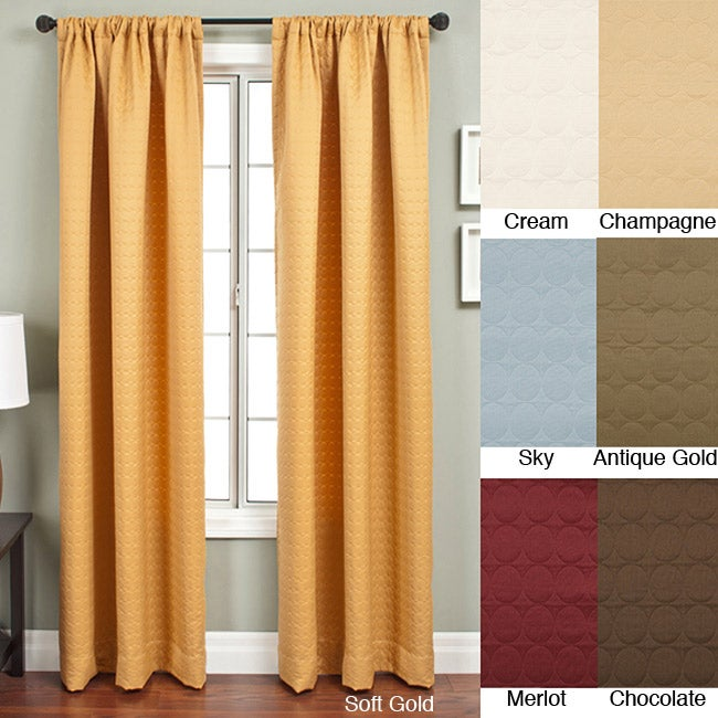 Radiant Rod Pocket 120-inch Curtain Panel