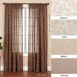 Cypress Rod Pocket 96-inch Curtain Panel