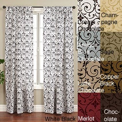 Seville 96-inch Rod Pocket Curtain Panel - 55 x 96