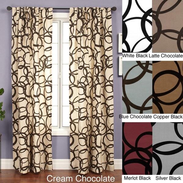 Softline Nirvano Rod Pocket 96-inch Curtain Panel