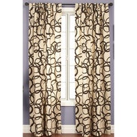 Softline Nirvano Rod Pocket 96 Inch Curtain Panel 55 X