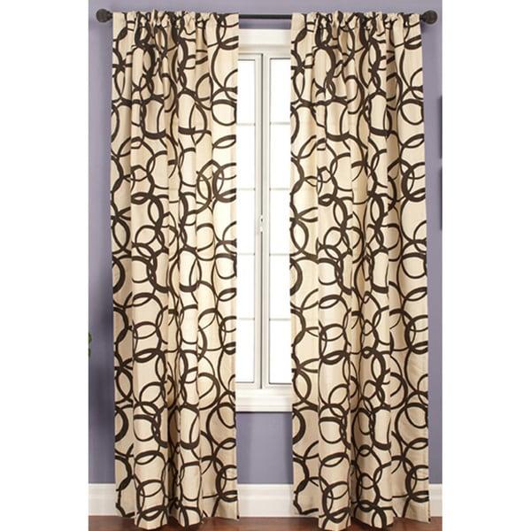 Softline Nirvano Rod Pocket 96-inch Curtain Panel - 55 x 96