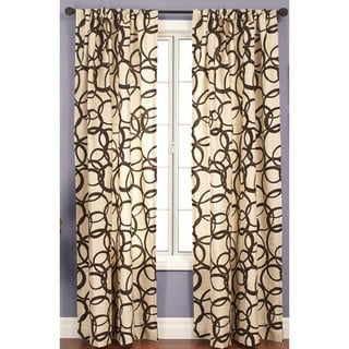 Softline Nirvano 84-inch Rod Pocket Curtain Panel