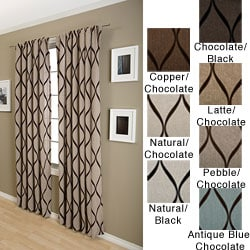 Softline Sahara Rod Pocket 96-inch Curtain Panel