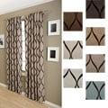 Softline Sahara Rod Pocket 96-inch Curtain Panel