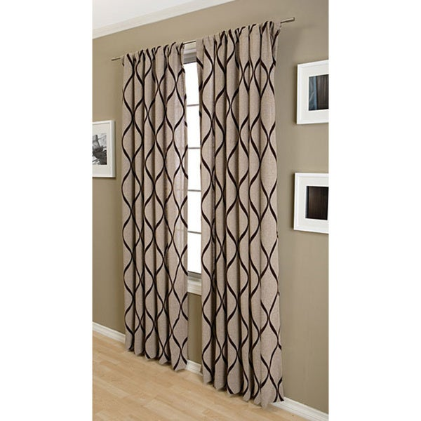 Softline Sahara Rod Pocket 108 Inch Curtain Panel