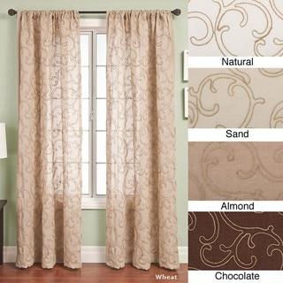 Softline Santiago Rod Pocket 84-inch Curtain Panel