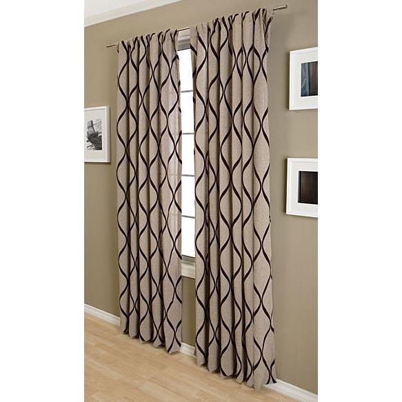 Softline Sahara Rod Pocket 84-inch Curtain Panel - Free Shipping ...