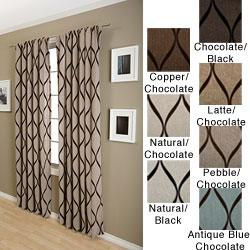 Softline Sahara Rod Pocket 120 Inch Curtain Panel