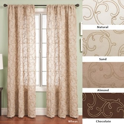 Softline Santiago Rod Pocket 120-inch Curtain Panel