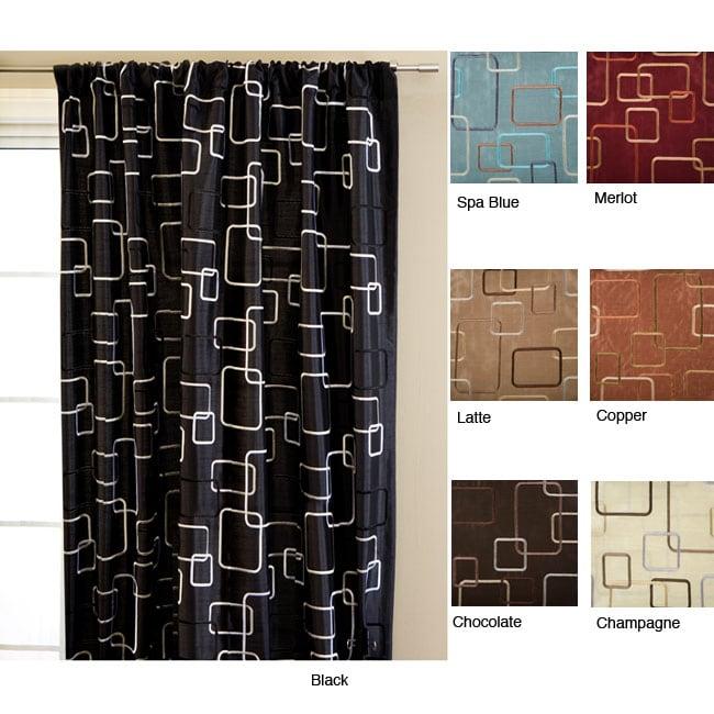 Madison Square Rod Pocket 84-inch Curtain Panel