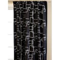 Softline Madison Square Rod Pocket 84-inch Curtain Panel