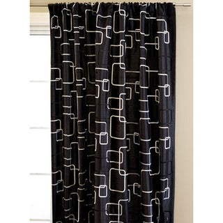 Softline Madison Square Rod Pocket 96-inch Curtain Panel