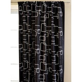 Softline Madison Square Rod Pocket 108-inch Curtain Panel