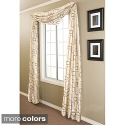 Softline Madison Square 6-yard Window Scarf