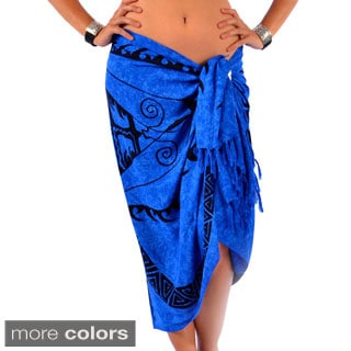 Handmade 1 World Sarongs Women's Celtic Horses Sarong (Indonesia)