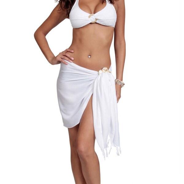 88da2aa0aa ... Women s Clothing     Swimwear     Cover-Ups   Sarongs. Handmade 1 World  Sarongs Women  x27 s Solid Mini Sarong (Indonesia)