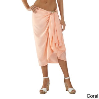 Handmade 1 World Sarongs Women's Solid Sarong (Indonesia)