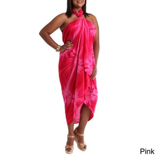 1 World Sarongs Women's Smoked Women's Plus Size Sarong (Indonesia)