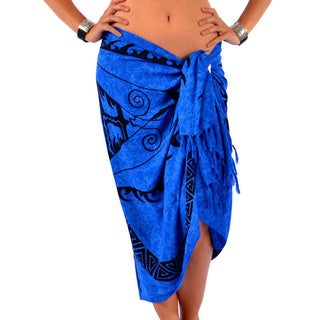 Handmade 1 World Sarongs Women's Tattoo Sarong (Indonesia)
