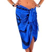 Handmade 1 World Sarongs Women's Tattoo Sarong (Indonesia)