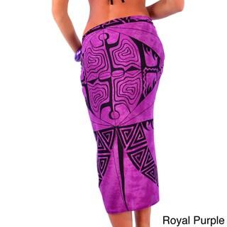 1 World Sarongs Women's Tattoo Sarong (Indonesia)
