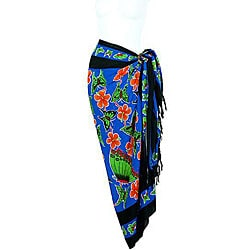 Butterfly Blue Sarong (Indonesia)