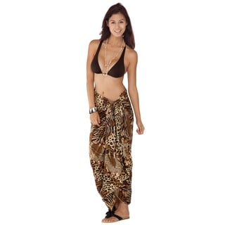 1 World Sarongs Women's Feline 10 Sarong (Indonesia)
