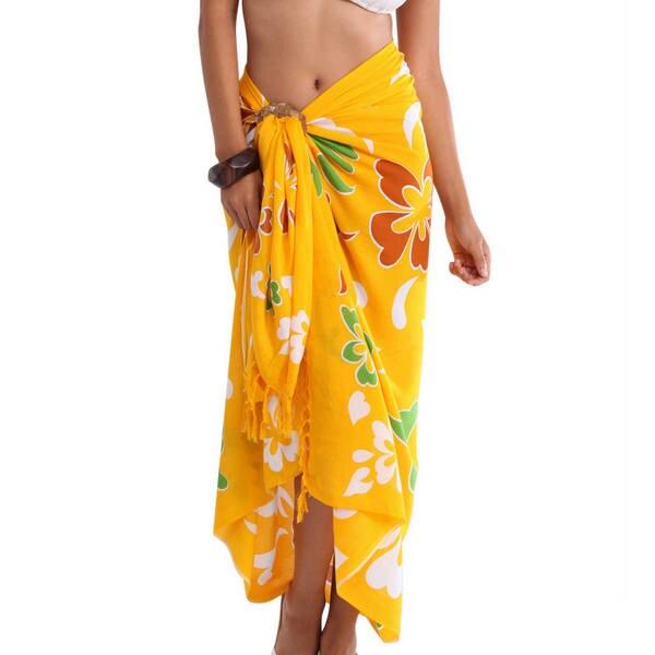 Handmade 1 World Sarongs Women's Hawaiian Sarong (Indonesia)