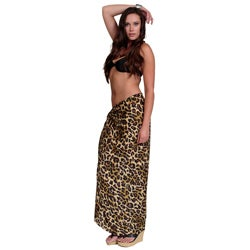 1 World Sarongs Women's Feline Sarong (Indonesia)