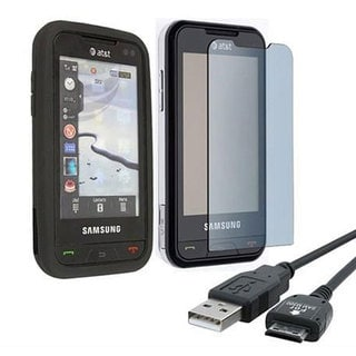 INSTEN Phone Case Cover/ Cable/ Screen Protector for Samsung Eternity