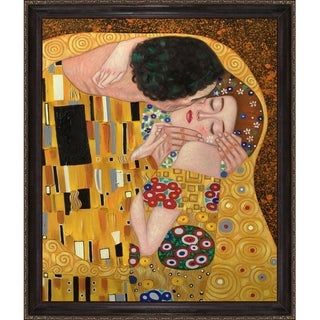 Klimt 'The Kiss' Hand-painted Reproduction Oil on Canvas Art