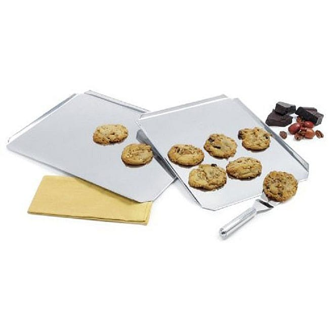Grade 18/8 Stainless Steel 16x11-inch Cookie Sheet (Pack of 2)