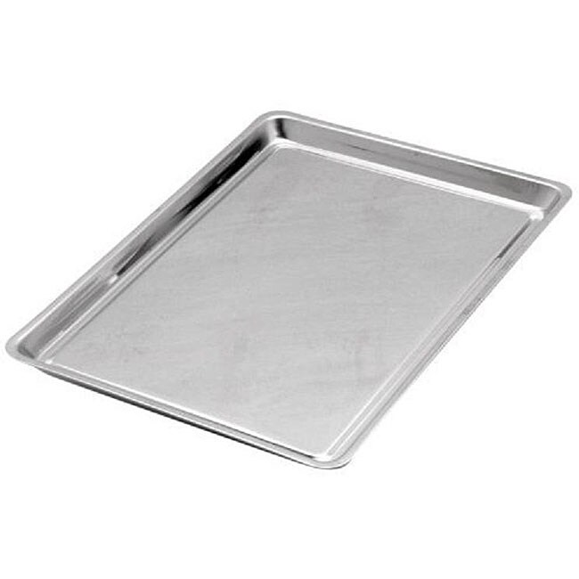 Grade 18/8 Stainless Steel Jelly Roll Pan Sheets (Pack of 2)