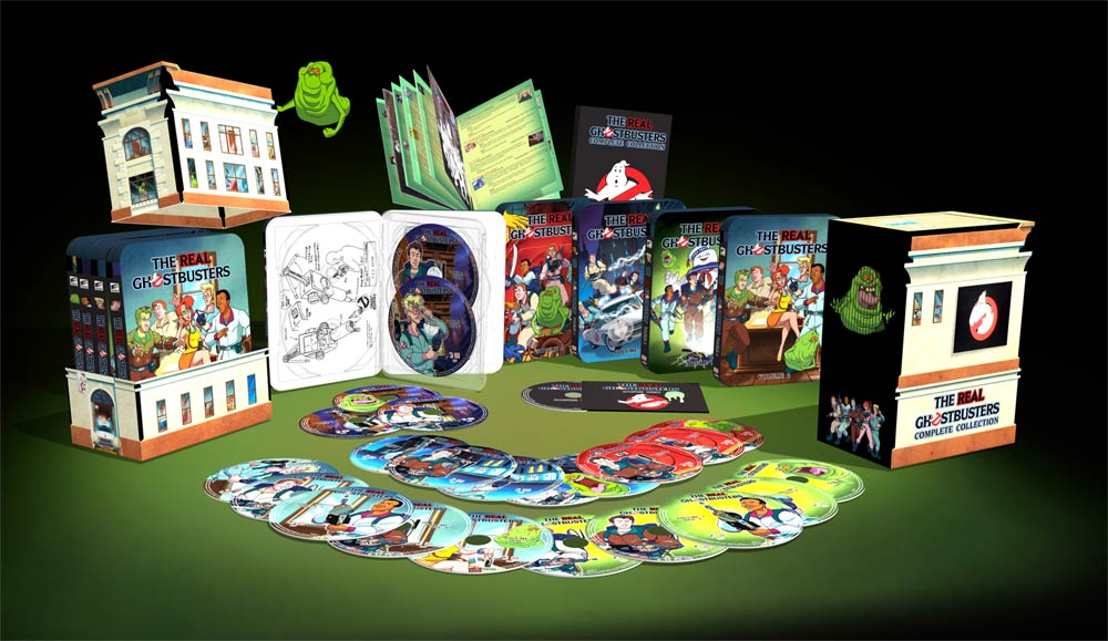 The Real Ghostbusters: The Complete Collection (DVD)