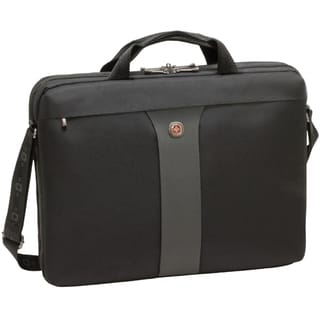 Swissgear Legacy Slimcase 17in laptop. Black